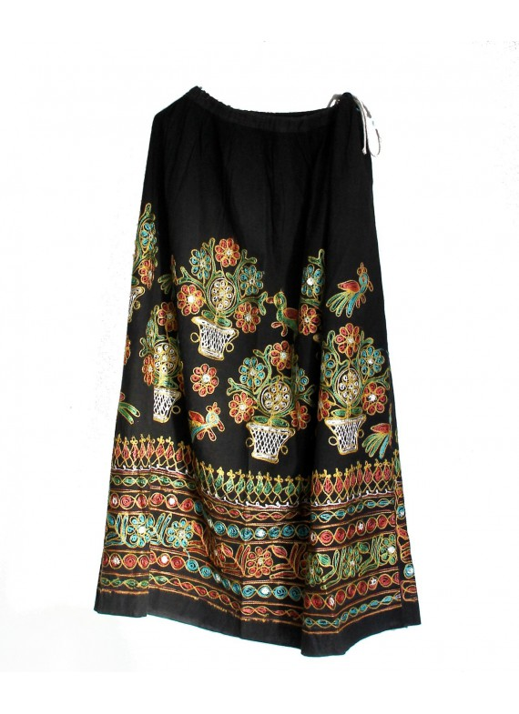 FLOWER POWER SKIRT