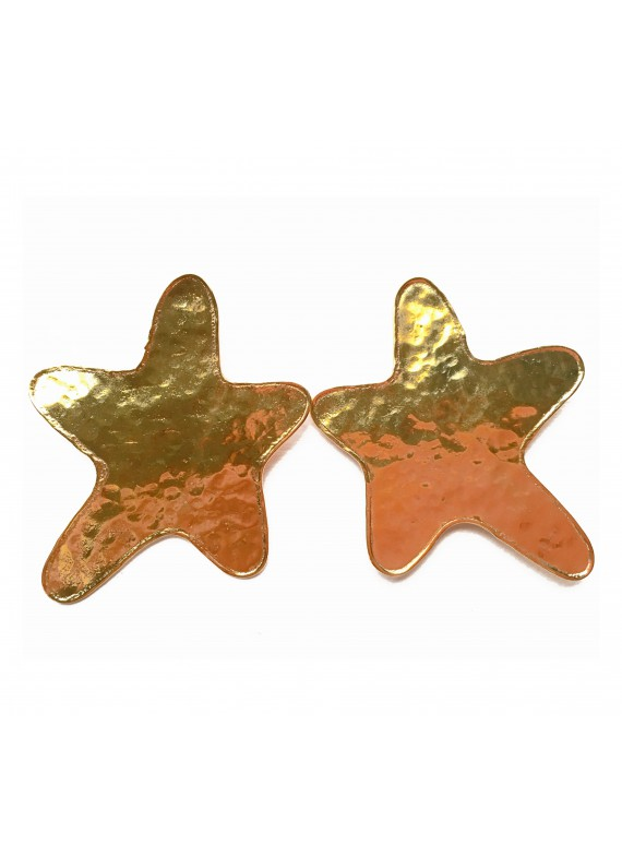 PENDIENTES SEA STAR GOLD