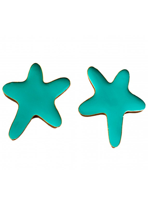 SEA STAR TURQUOISE EARRINGS