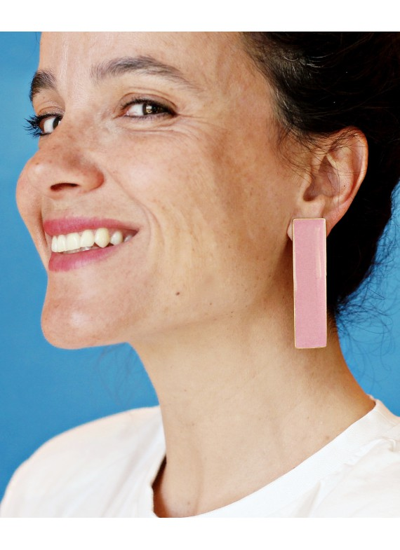 POSIDONIA PINK EARRINGS