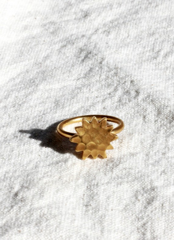STARRY CACTUS RING