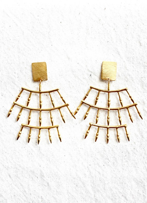 CHICHÉN ITZÁ EARRINGS