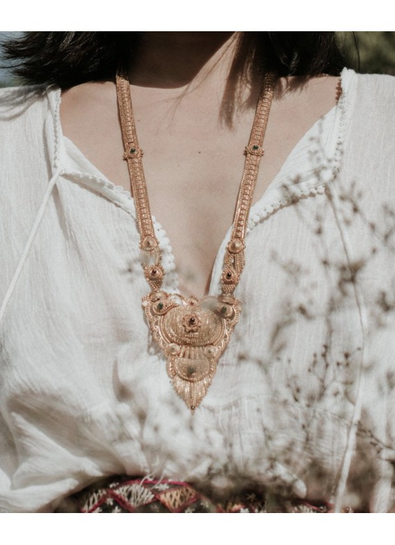 LOTUS FLOWERS NECKLACE