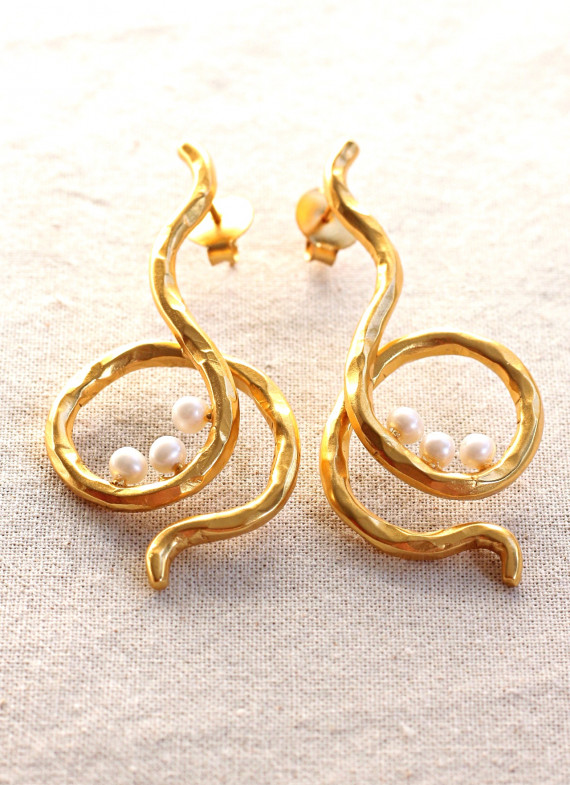 KANAGAWA EARRINGS