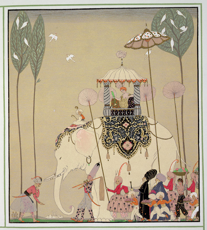 George Barbier, Art Deco illustrations